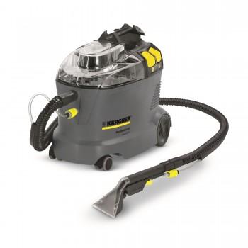 מכונת הזרקה/יניקה לניקוי עמוק של שטיחים וריפודים 8 ליטרים